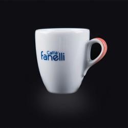 Set Tazze Caffè doppio espresso Fanelli  (6 Tazze + 6 piattini)