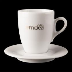Set Tazze Caffè doppio espresso Emidea (6 Tazze + 6 piattini)