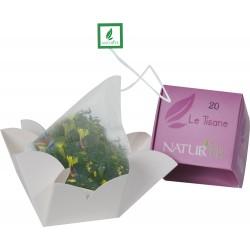Naturtè - Cubetto Tisane con filtro in seta 5 pz