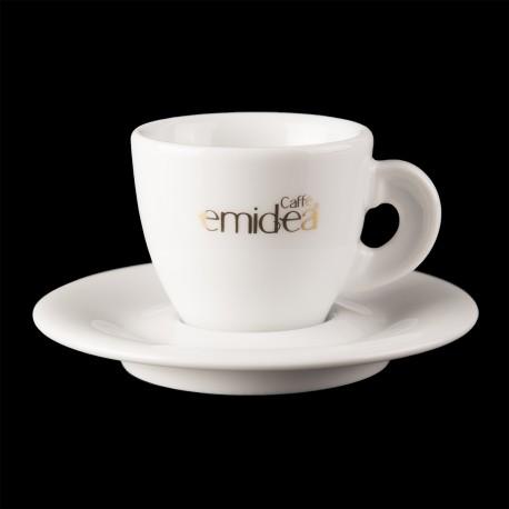 Set Tazze Caffè Emidea  (6 Tazze + 6 piattini)