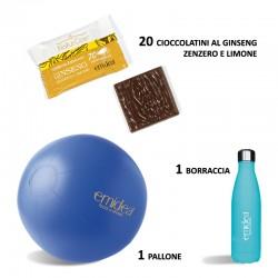 20 Cioccolatini al Ginseng, Zenzero e Limone