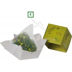 Naturtè - Cubetto monoporzione - Tè filtro in seta - 5 pz